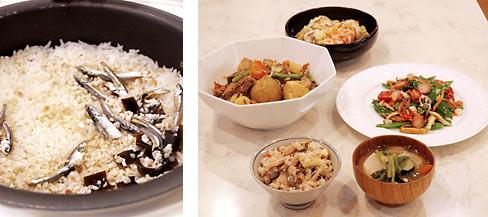 第10回シコアサロン「健康になるお料理教室」のメニュー