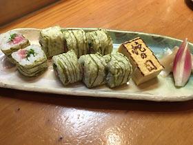 絶品のネギトロ寿司