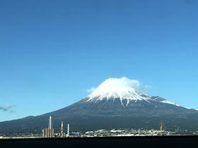 富士の霊峰(帰り)